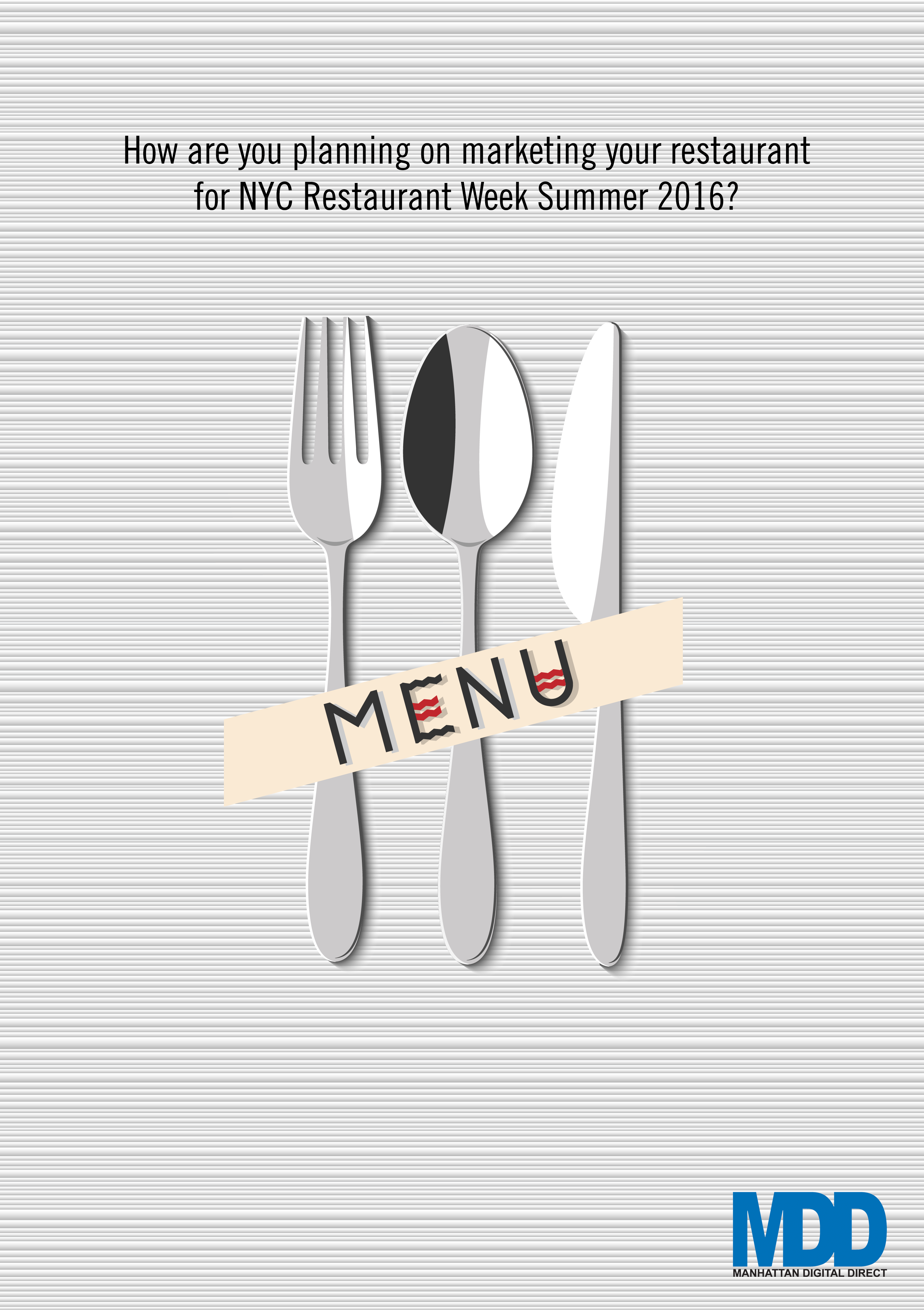 MDD NYC Restaurant Week Summer 2016
